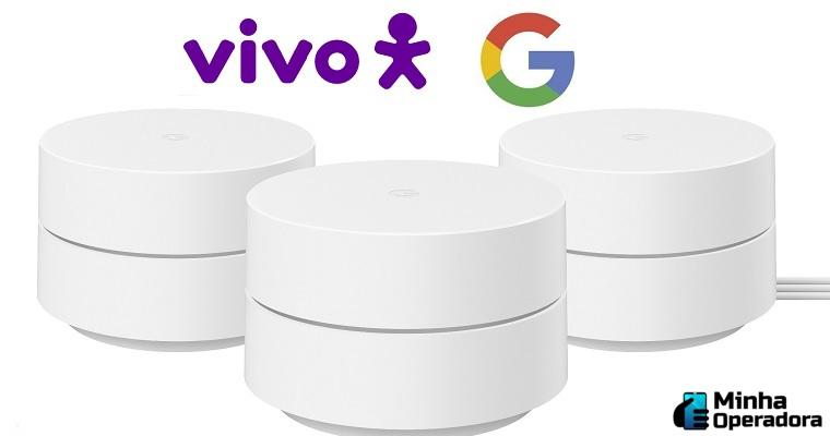 Vivo lança parceria para vender Google WiFi